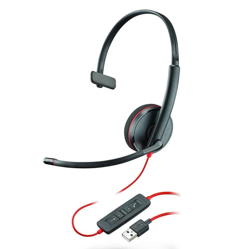 Headset USB Blackwire C3210 - Plantronics
