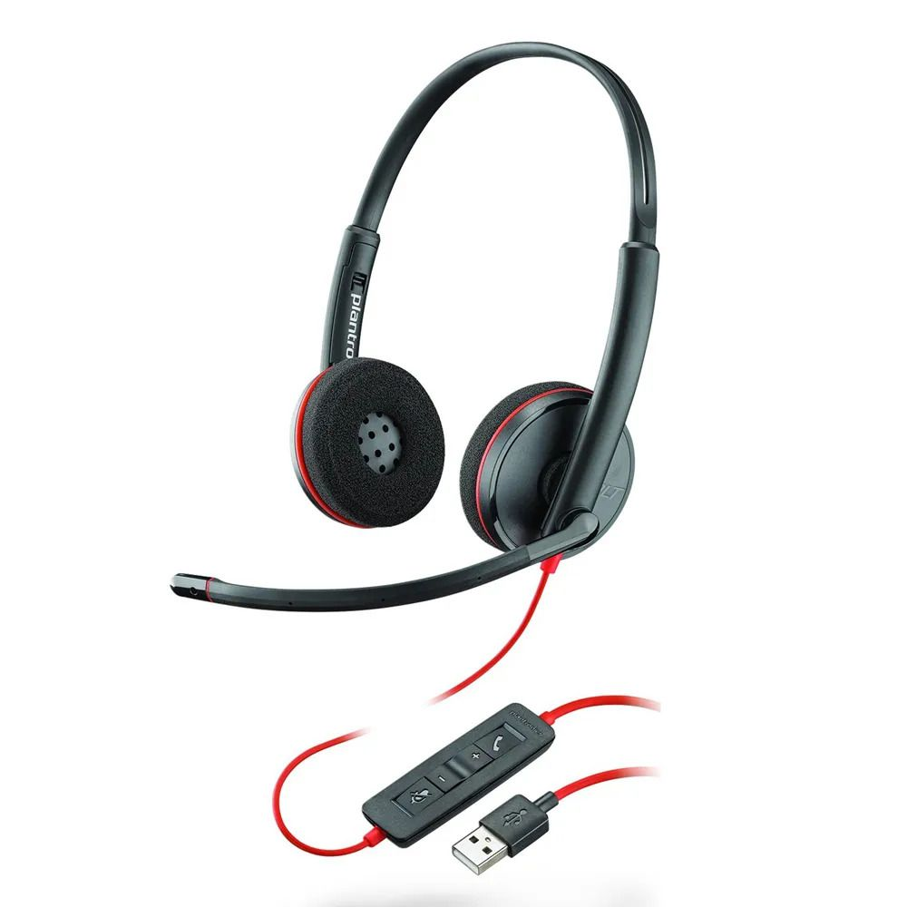 Headset USB Blackwire C3220 - Plantronics