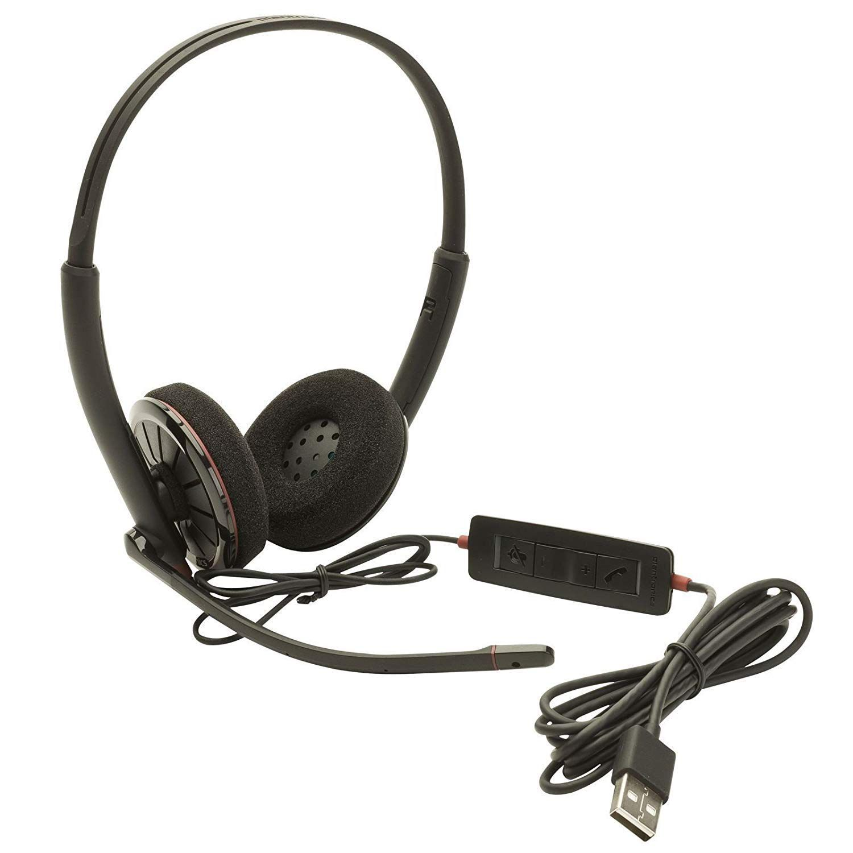 Headset USB C320-M Biauricular - Plantronics