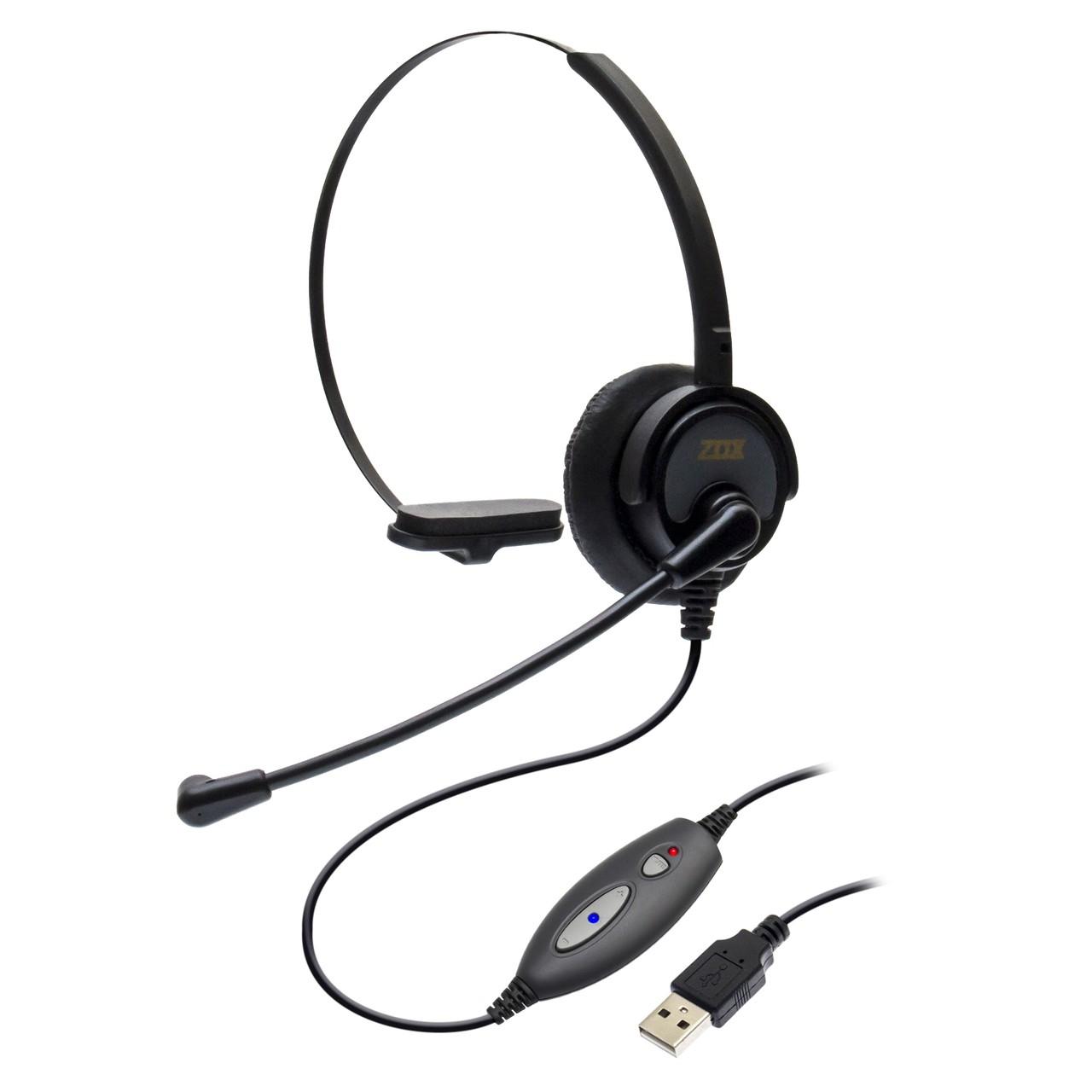 Headset USB DH-60 com Cancelador de Ruídos - Zox