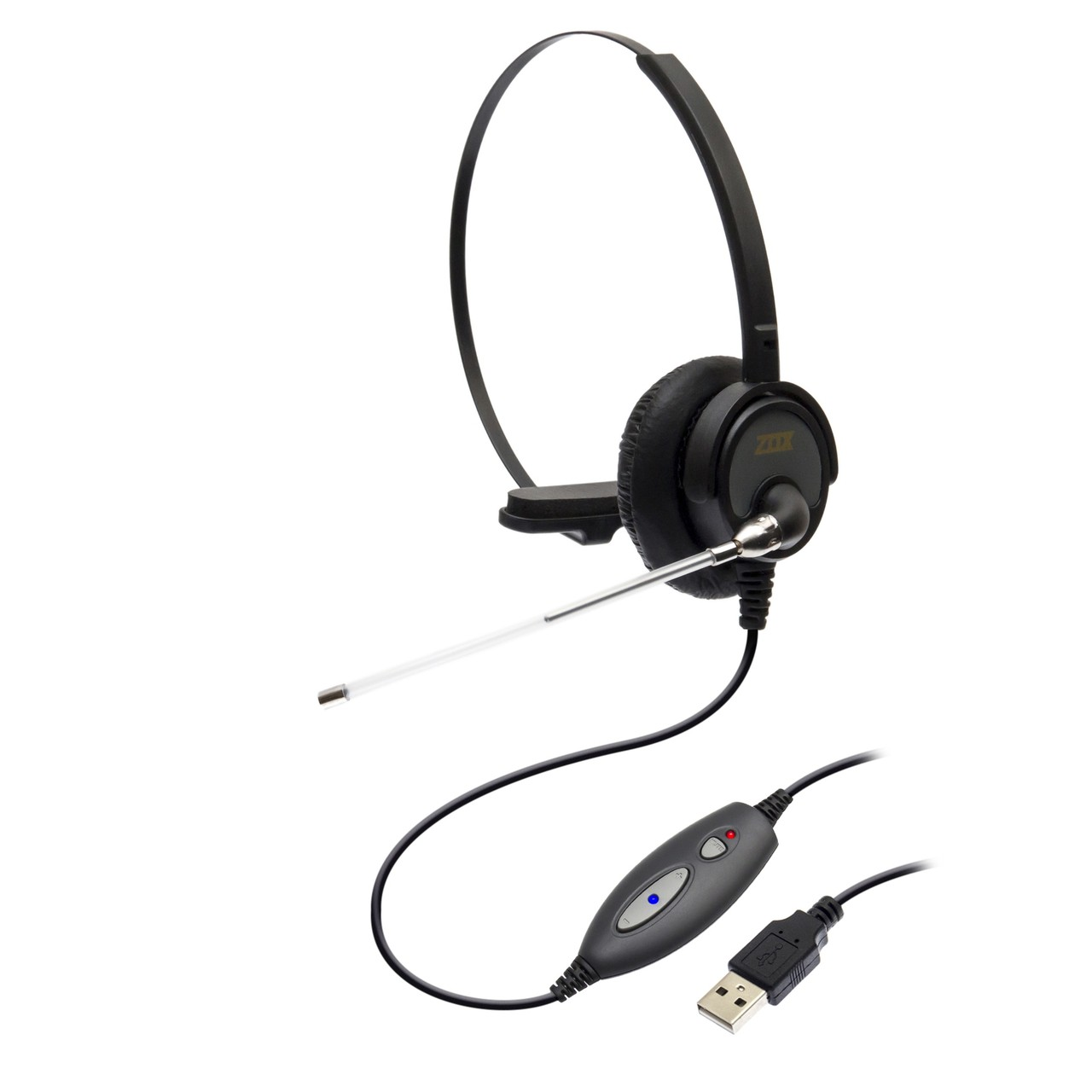 Headset USB DH-60T com Tubo de Voz - Zox
