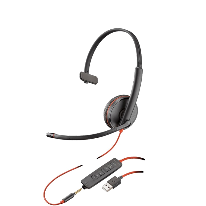 Headset USB VoiP Blackwire C3215 - Plantronics