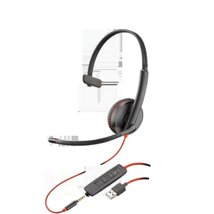 Headset USB VoiP Blackwire C3215 - Plantronics