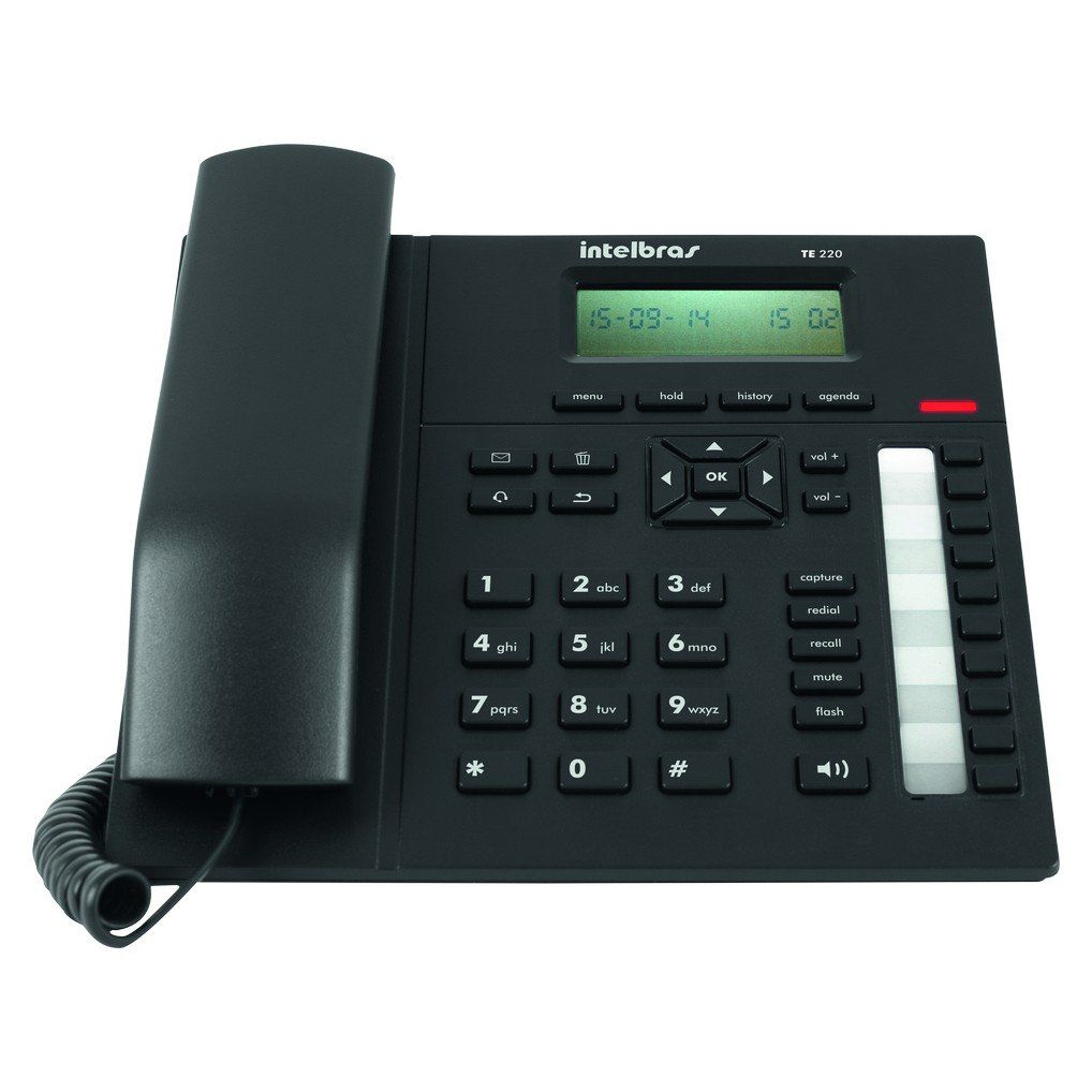 Telefone Analógico Executivo TE-220 - Intelbras