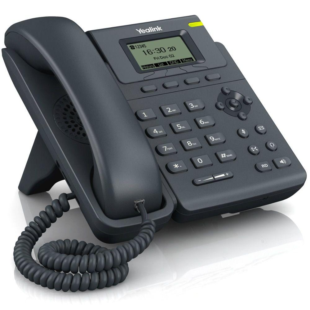 Telefone IP T19P com POE e Fonte Bivolt - Yealink