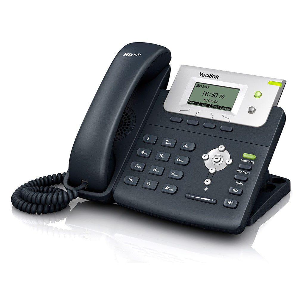 Telefone IP T21P/E2 com POE e Fonte Bivolt - Yealink