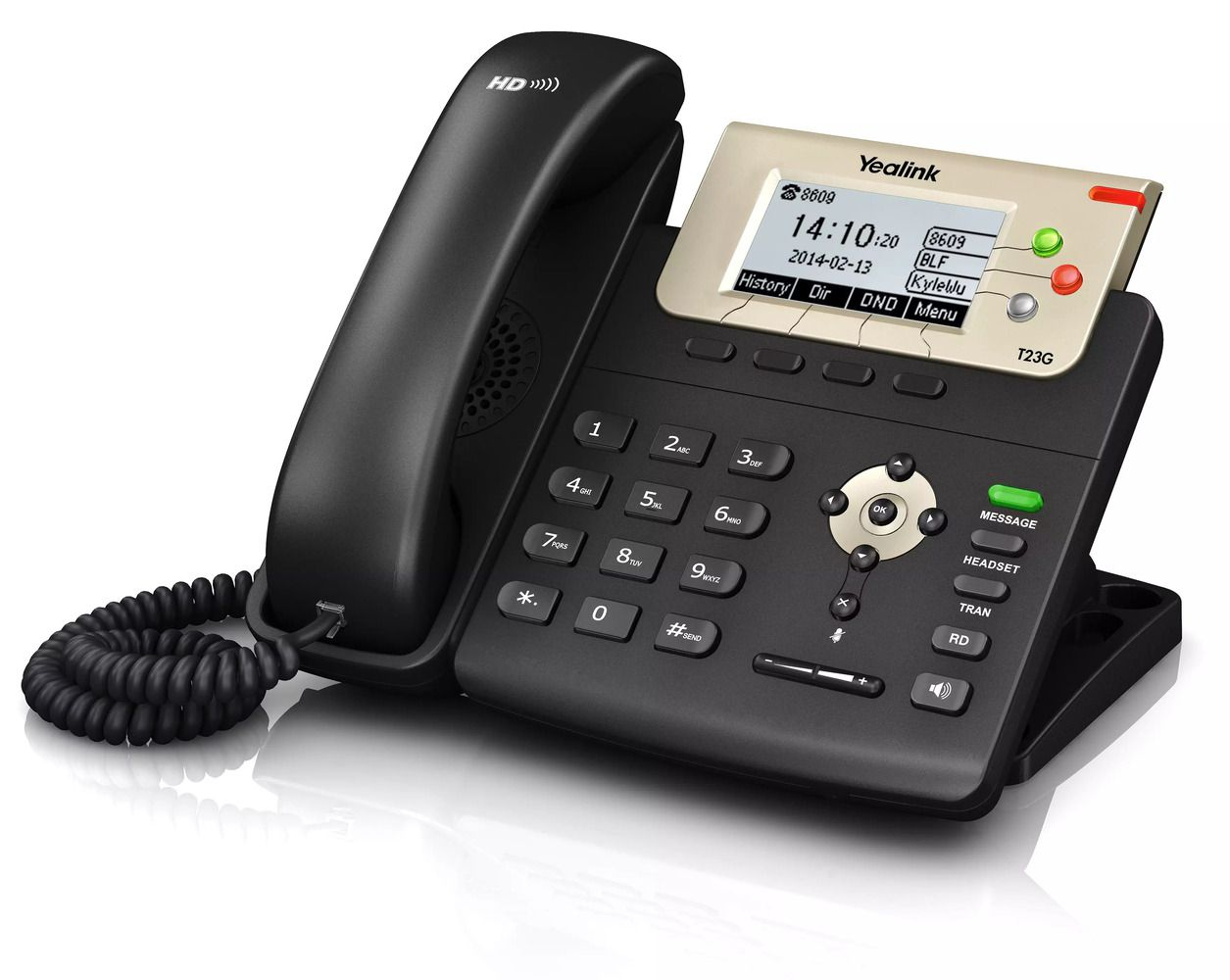 Telefone IP T27P POE com Fonte - Yealink