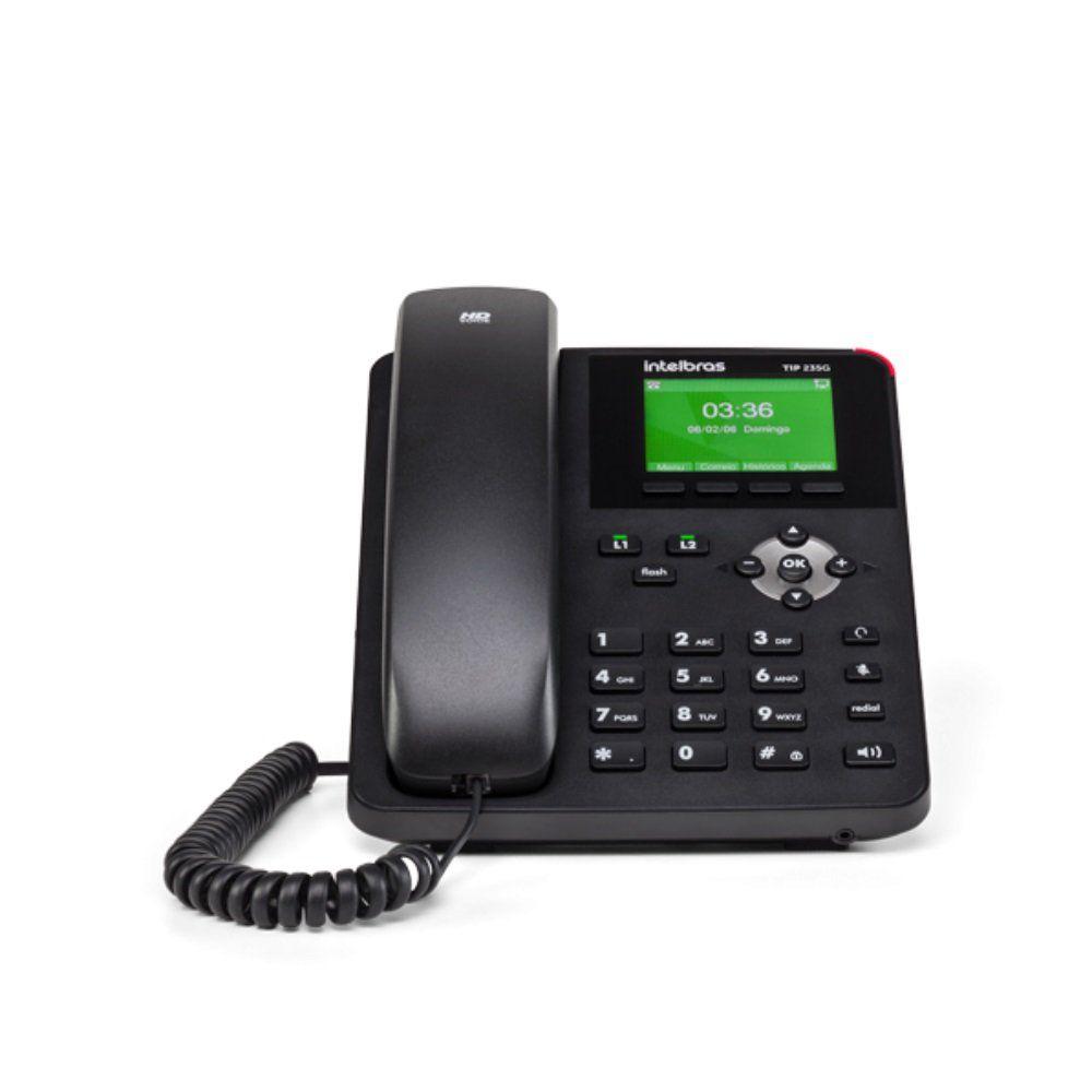 Telefone IP TIP 235G - Intelbras