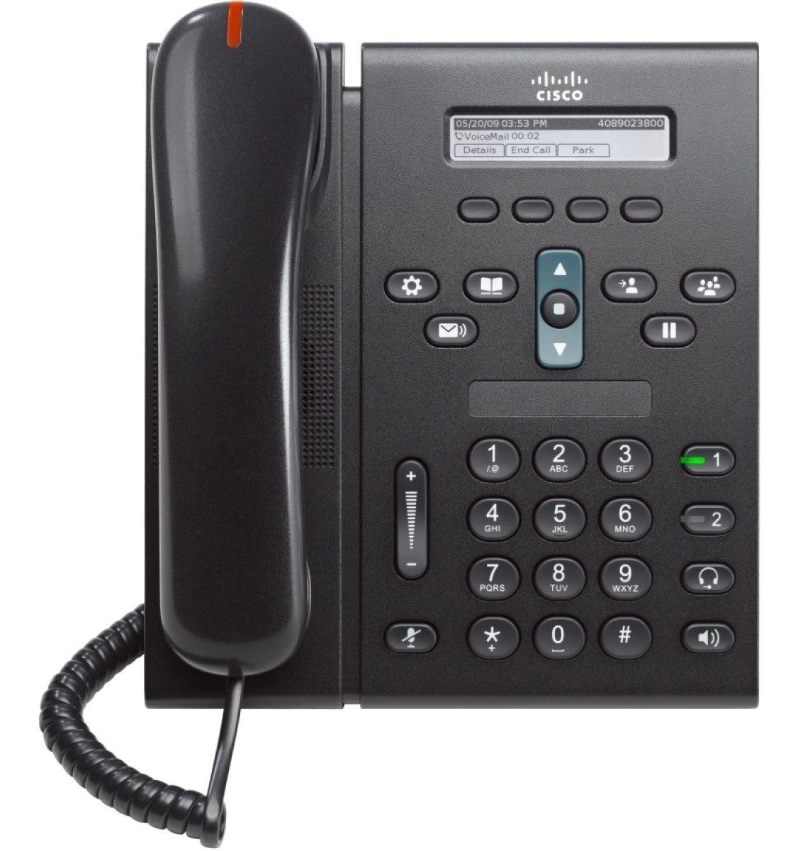 Telefone IP Unified CP6921 sem Fonte - Cisco
