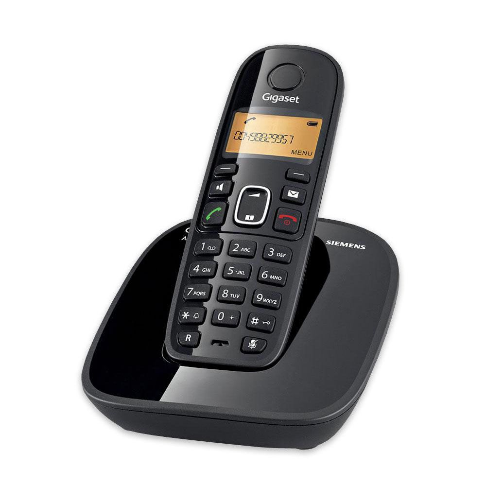 Telefone sem Fio A390 com Identificador de Chamadas - Gigaset/Siemens