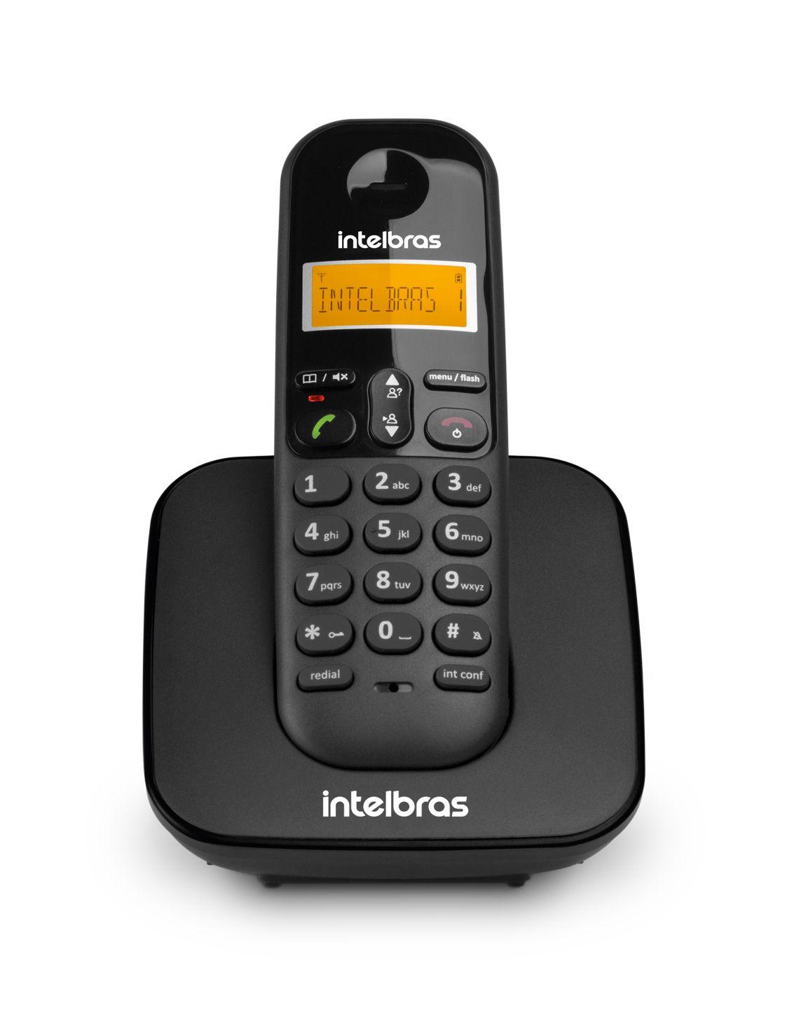 Telefone sem Fio  TS 3110 com Identificador de Chamadas - Intelbras