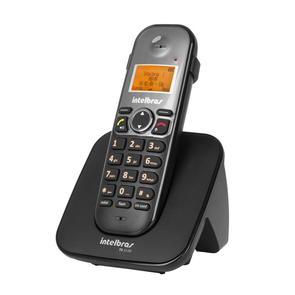 Telefone sem Fio TS 5120 com ID - Intelbras