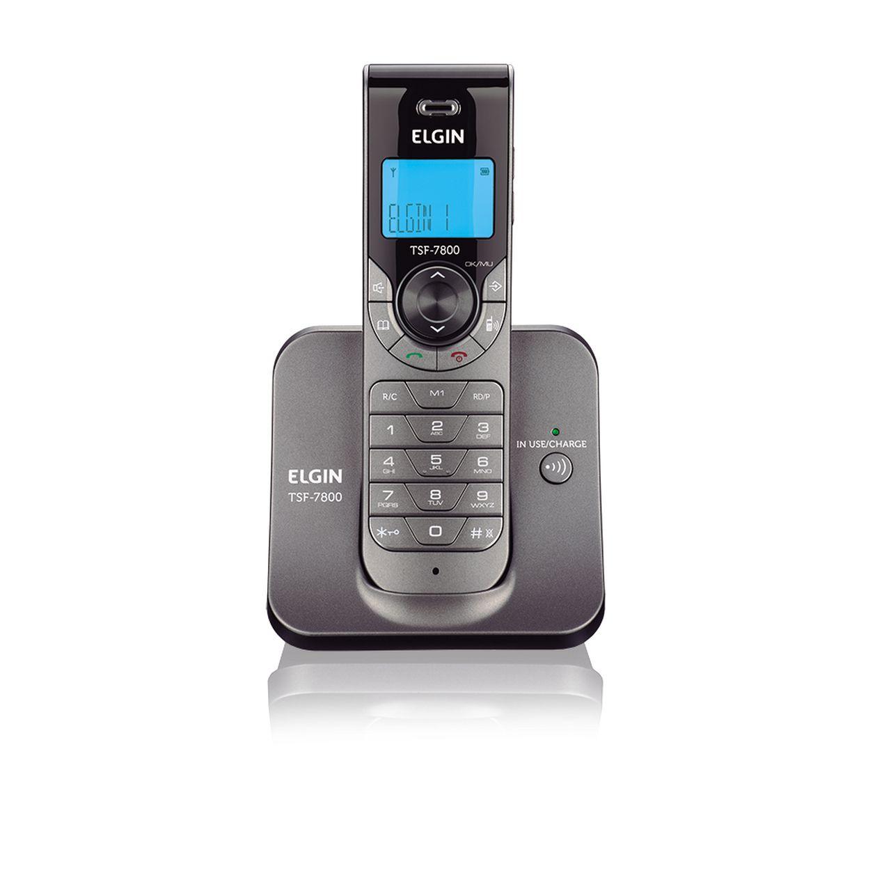 Telefone sem Fio TSF-7800 com Viva Voz - Elgin
