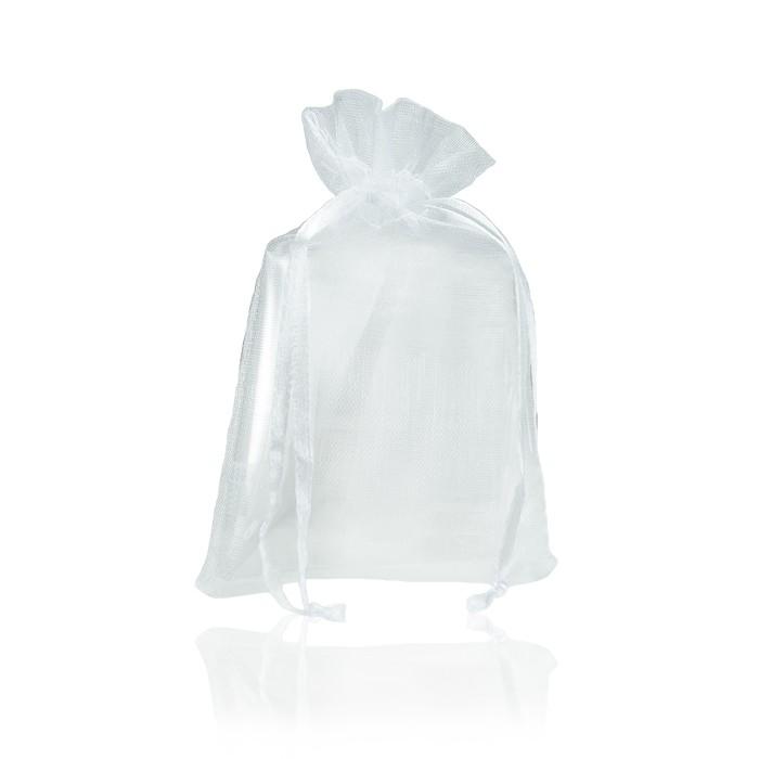 Saquinho Médio de Organza Branco