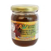 Composto de mel e extrato de própolis sabor romã pote vidro 230g