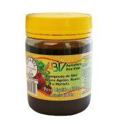 Composto de mel e extrato de própolis - sabores agrião, romã e hortelã pote plástico 300g