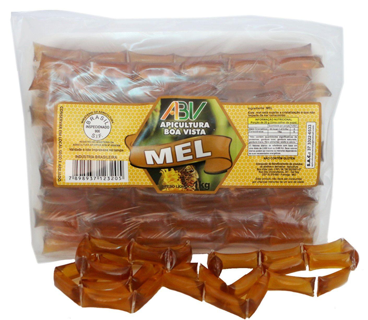 Mel puro em sachê bandeja 1kg