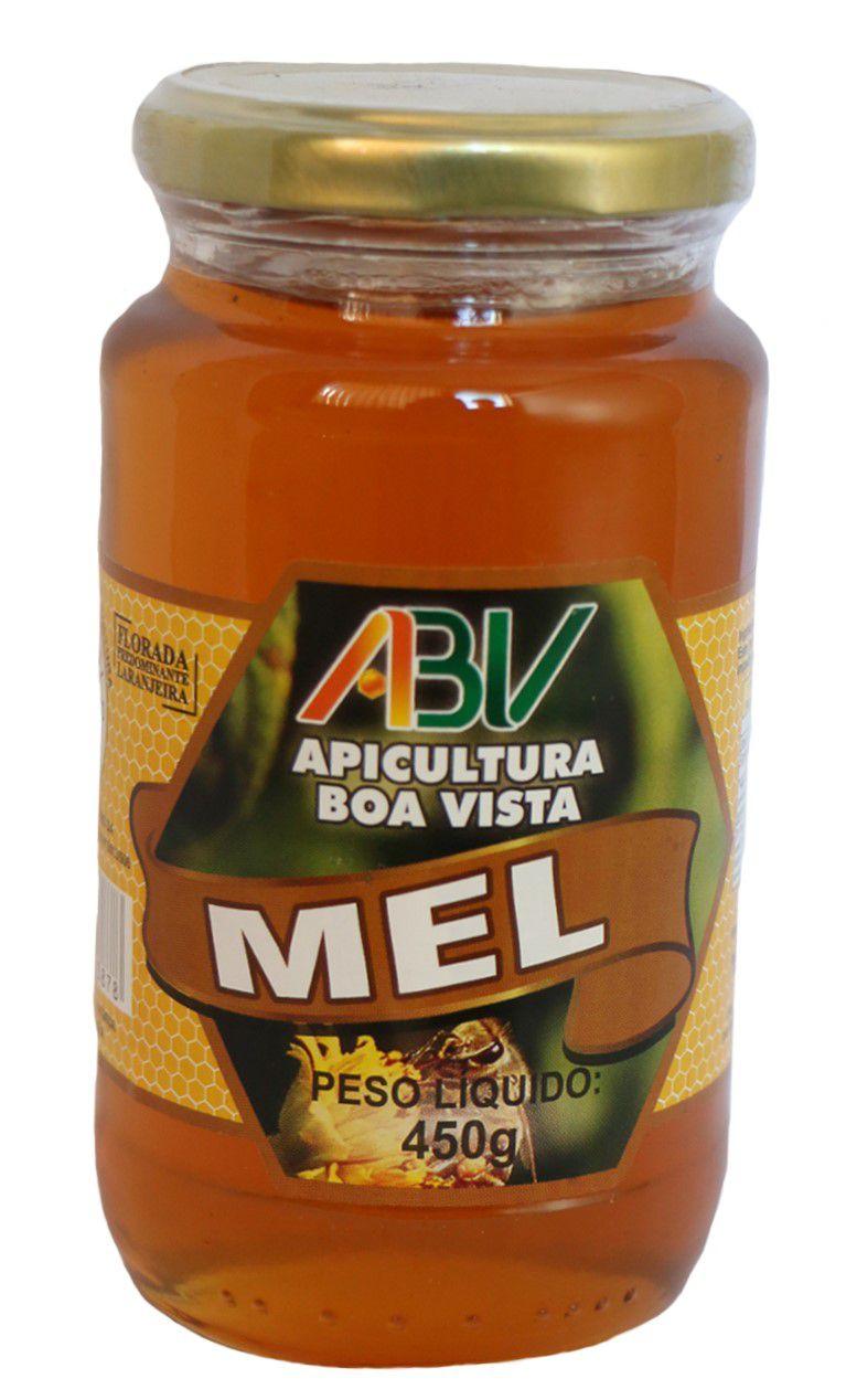 MEL PURO POTE VIDRO 450G