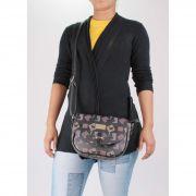 Bolsa Transversal Feminina - BLACK BUTTERFLY - BB007