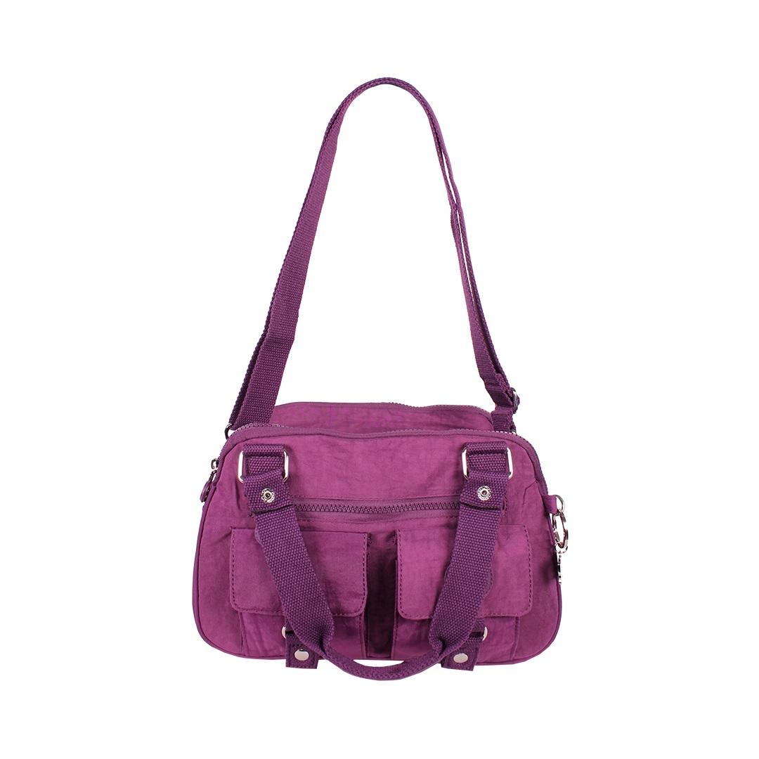 Bolsa Feminina Transversal  - Nylon - MENINO&MENINA - HT6017  - Menino & Menina 2