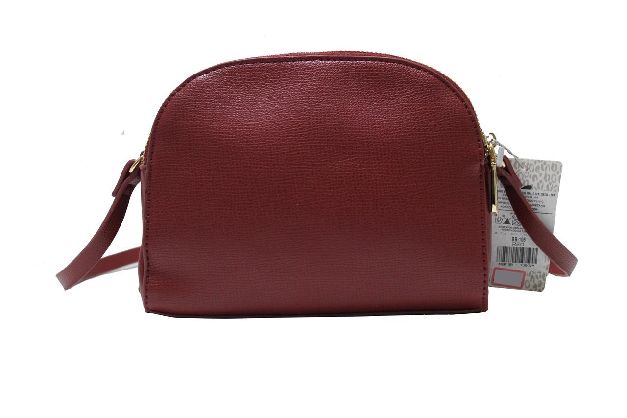 Bolsa Transversal Feminina - Vermelho - BLACK BUTTERFLY - 106  - Menino_Menina