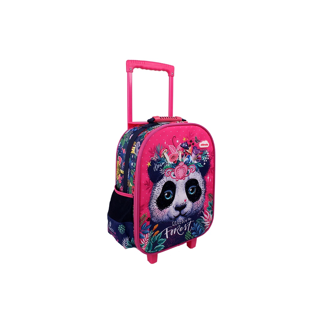 Mochila Carrinho  Panda - CHT9218X  - Menino & Menina 2
