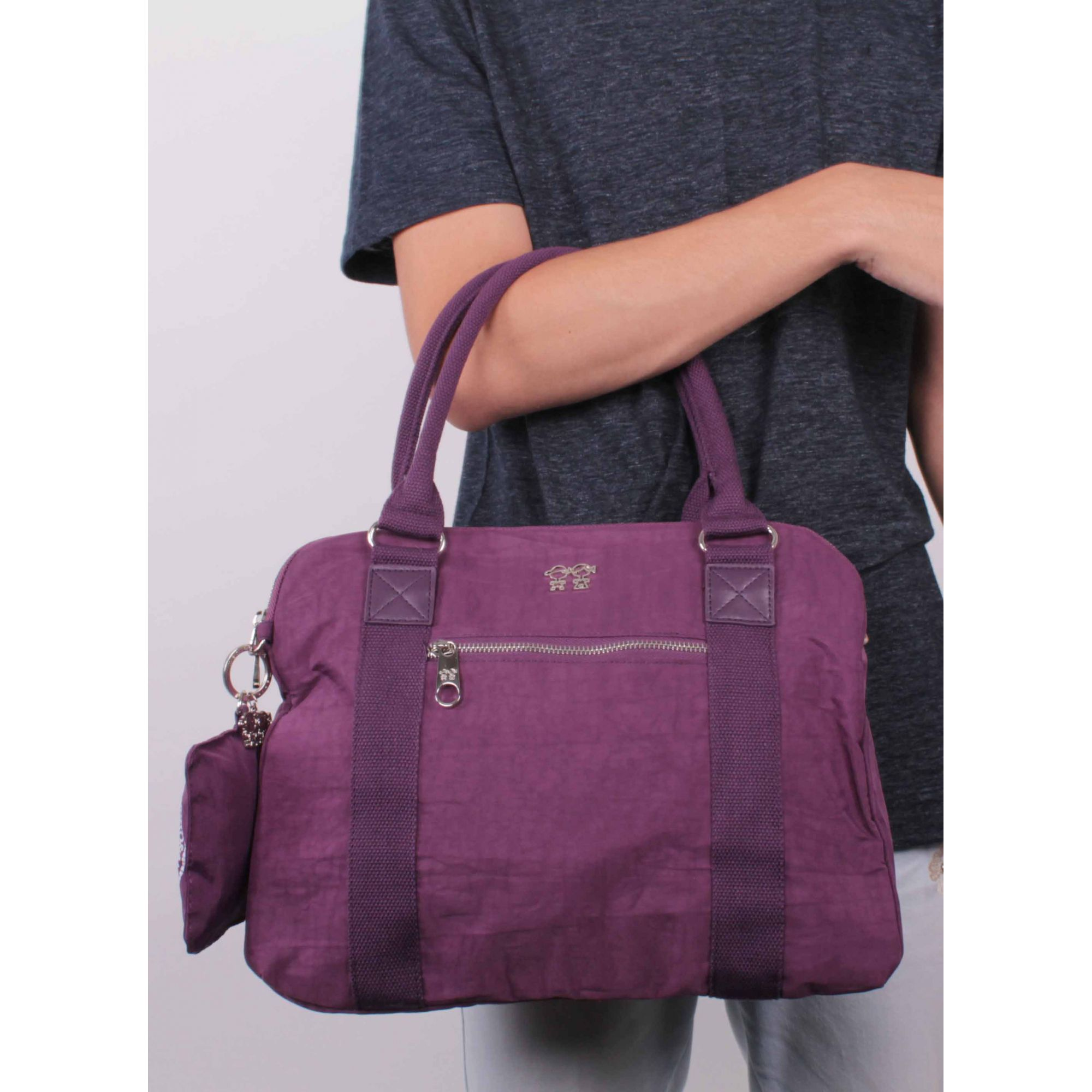 Bolsa Feminina Transversal - Nylon - MENINO&MENINA - HT6031  - Menino_Menina
