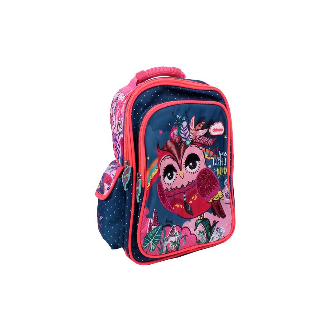 Mochila Escolar Infantil - Coruja - CHIMOLA - CH2114  - Menino & Menina 2
