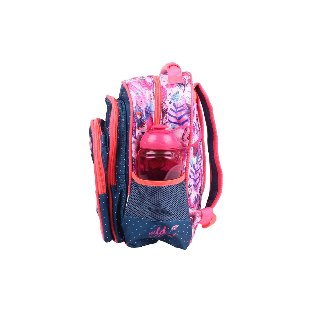 Mochila Escolar Infantil - Coruja - CHIMOLA - CH2116  - Menino & Menina 2