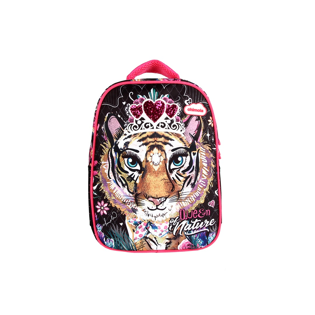Mochila Escolar Feminina - Tigre - CHIMOLA - CH8212  - Menino & Menina 2