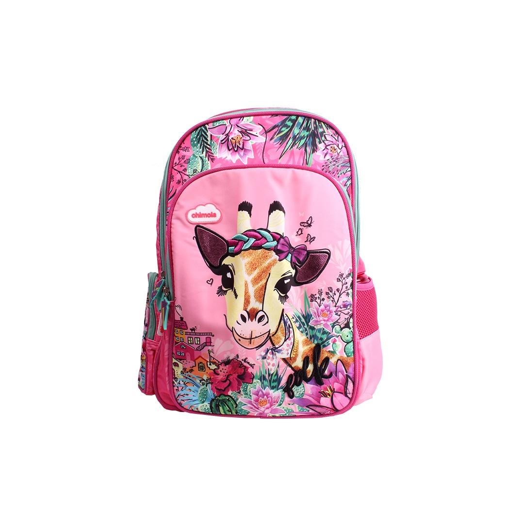 Mochila Escolar Infantil - Girafa - CHIMOLA - CH3118  - Menino & Menina 2