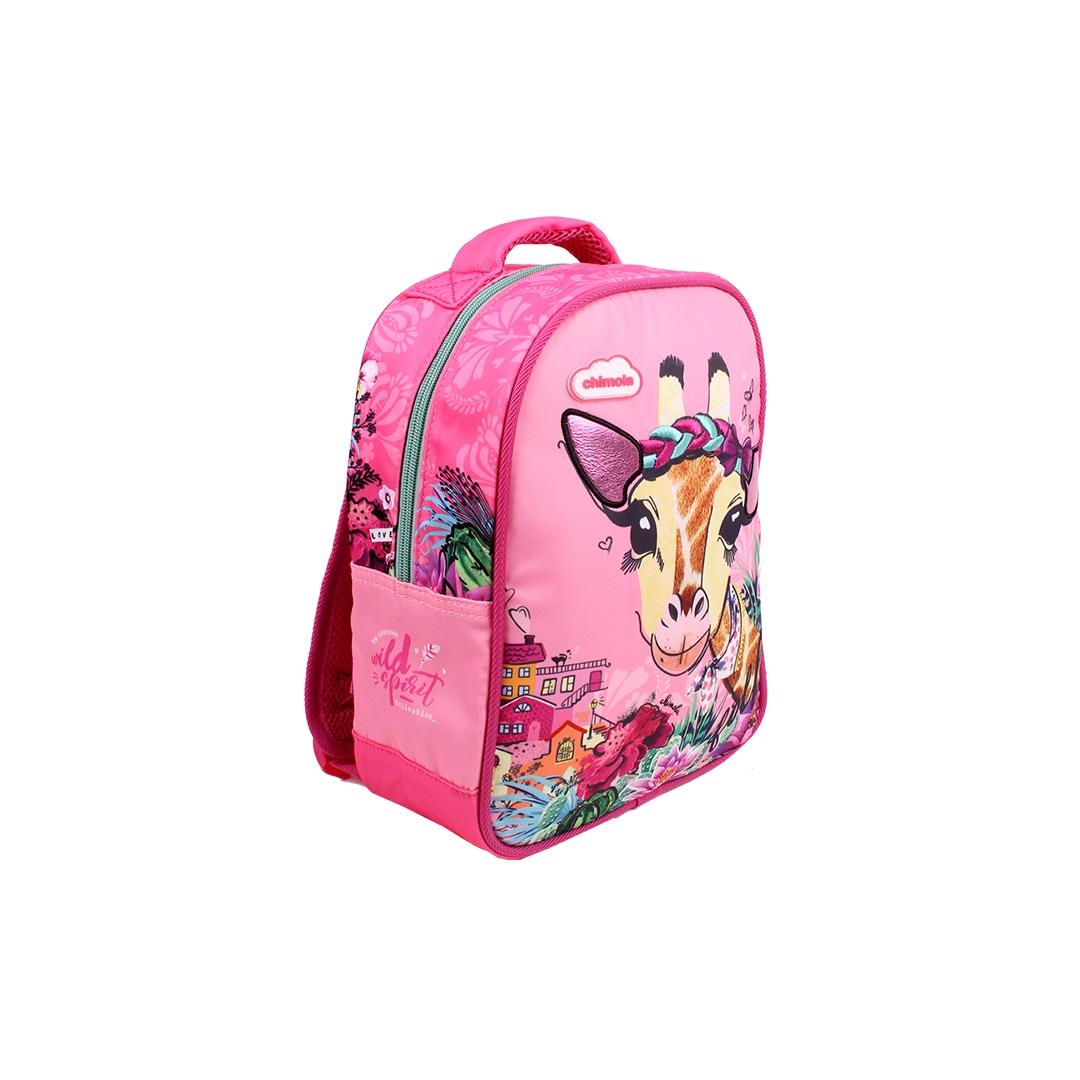 Mochila Escolar Infantil - Girafa - CH3112  - Menino_Menina