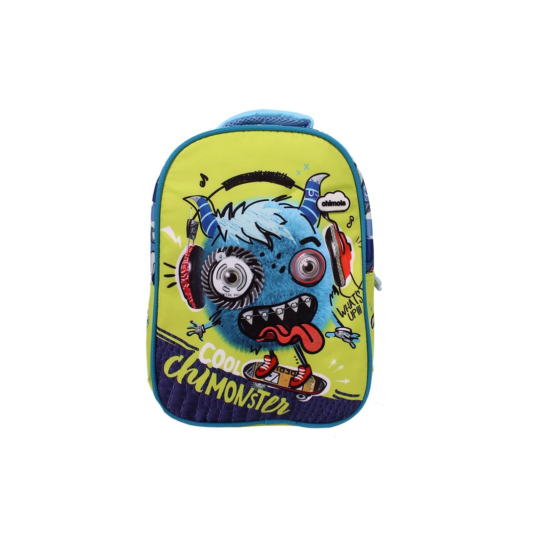Mochila Escolar Infantil - Monstrinho - CHIMOLA - CH5112  - Menino_Menina