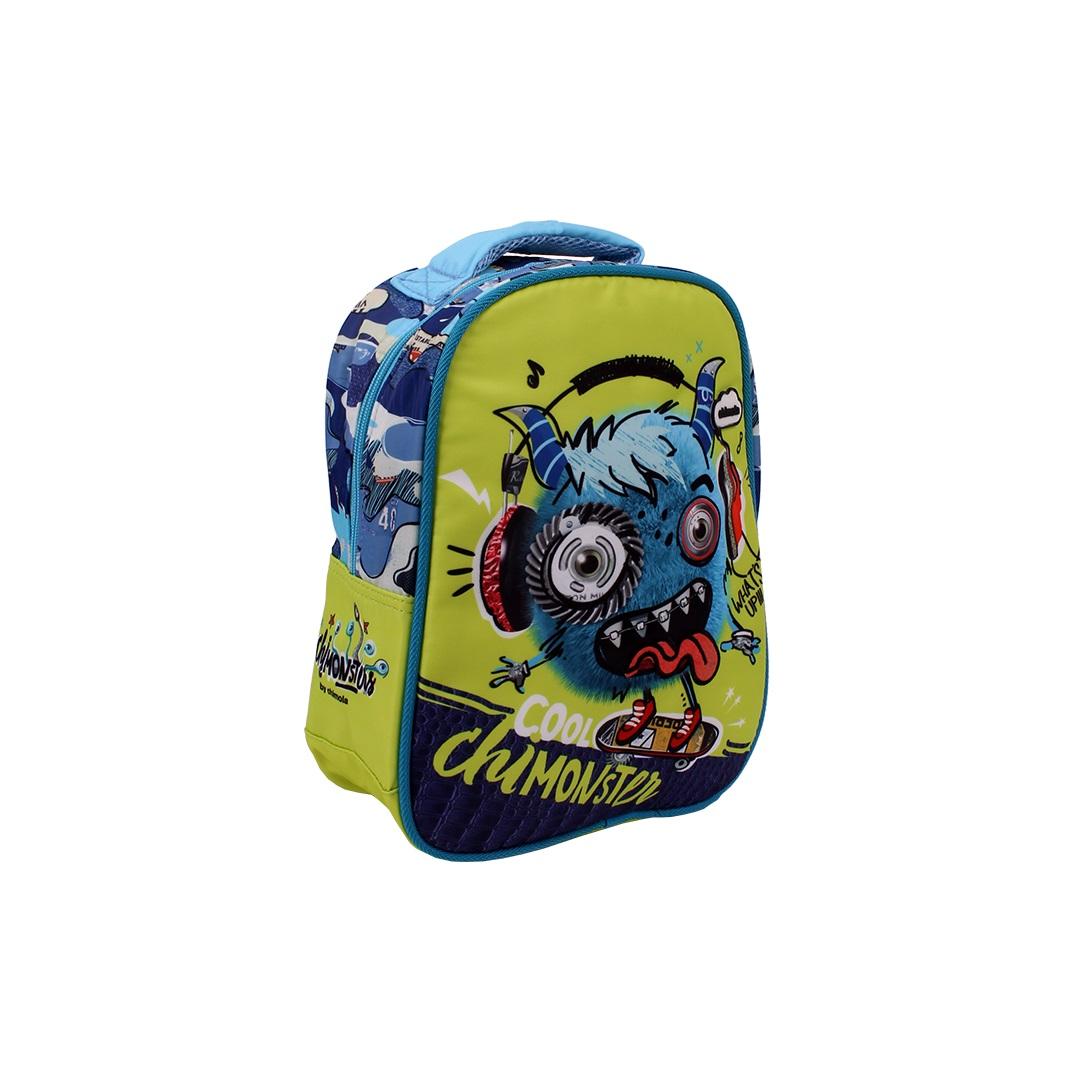 Mochila Escolar Infantil - Monstrinho - CHIMOLA - CH5112  - Menino & Menina 2