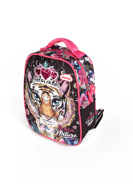 Mochila Escolar Feminina - Tigre - CHIMOLA - CH8212  - Menino_Menina