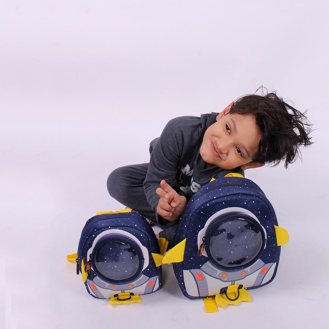 Mochila Infantil -  Astronauta  - 007P  - Menino & Menina 2
