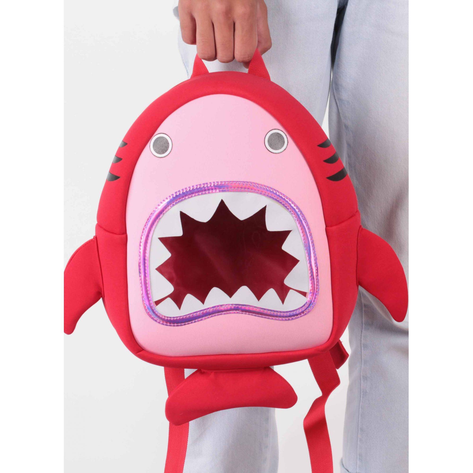 Mochila Infantil Tubarão  - Menino_Menina