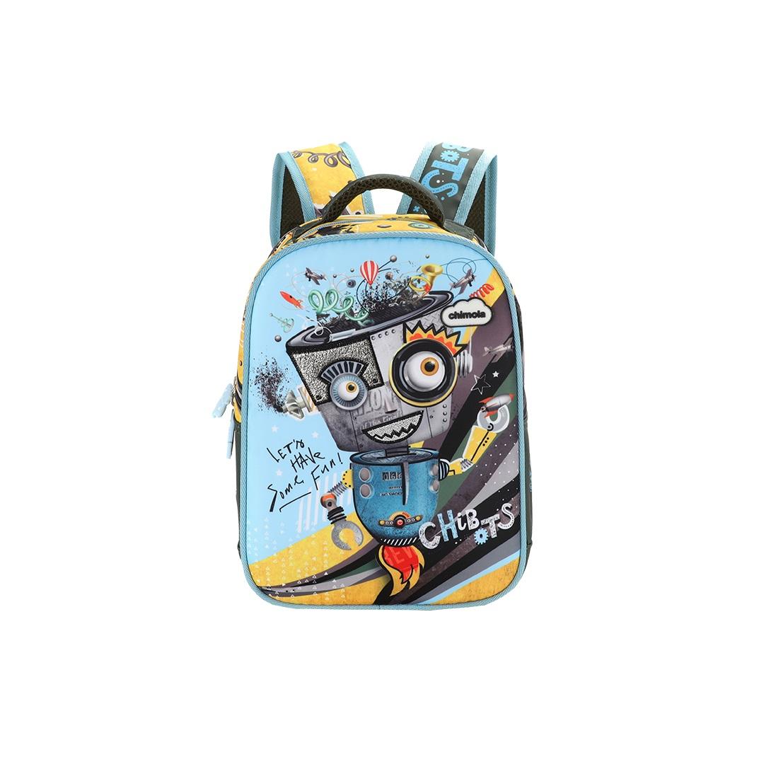 Mochila Infantil Robo - CHIMOLA - CH11212  - Menino & Menina 2