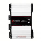 Amplificador Taramps MD1200 1 canal mono ou estéreo 1200WRMS tecnologia digital