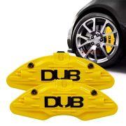 Capa pinça de freio DUB amarelo universal