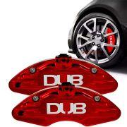 Capa pinça de freio DUB vermelho cereja universal