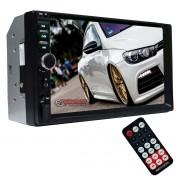 Central Multimídia Universal 2din MP5 com Bluetooth First Option 7810H