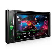 "DVD Player Pioneer AVH-A208BT 6,2"" com Bluetooth"