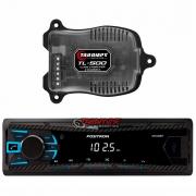 Kit aparelho MP3 Pósitron + Amplificador Taramps TL500