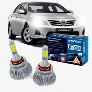 Kit LED 2D Headlight Shocklight tipo xenon Corolla 2012 2013 2014 - farol baixo HB4 35w