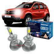 Kit LED Duster 2011 até 2019 tipo xenon farol baixo H7 35W Headlight