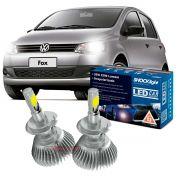 Kit LED Fox 2010 até 2020 tipo xenon farol baixo H7 35W Headlight