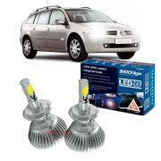 Kit LED Megane 2001 até 2012 tipo xenon farol baixo H7 35W Headlight