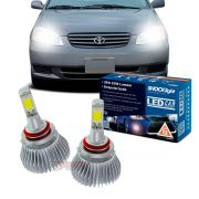 Kit LED 2D Headlight Shocklight tipo xenon Corolla 2003 2004 2005 2006 2007 - farol baixo HB4 35W