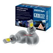 Kit LED 2D Headlight  tipo xenon modelo H3 para farol milha 35W